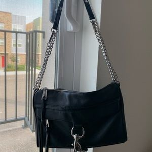 Black Rebecca Minkoff Mac bag
